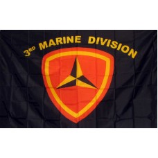 Marines 3rd Division 3'x 5' Economy Flag