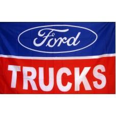 Ford Trucks Automotive Logo 3'x 5' Flag