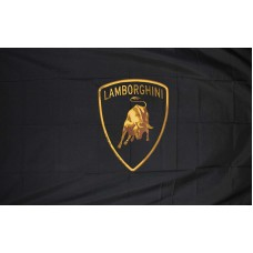 Lamborghini Automotive Logo 3'x 5' Flag