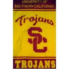 USC Trojans Vertical 3'x 5' College Flag