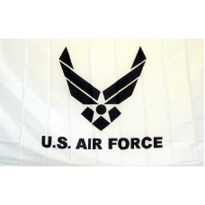 Air Force White 3'x 5' Economy Flag