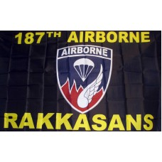 187th Airborne Rakkasans 3' x 5' Economy Flag