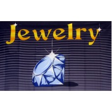 Jewelry 3'x 5' Advertising Flag