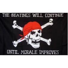 Pirate Morale 3'x 5' Pirate Flag