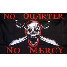 No Quarter, No Mercy 3'x 5' Pirate Flag