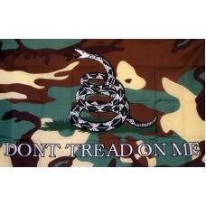 Don't Tread On Me Camo Premium 3'x 5' Flag