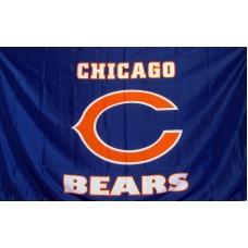 Chicago Bears 3'x 5' NFL Flag