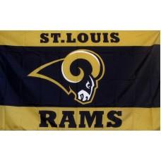 St. Louis Rams 3'x 5' NFL Flag