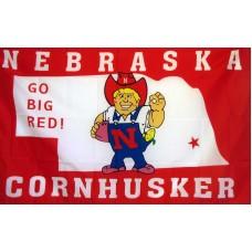 Nebraska Huskers 3'x 5' Flag