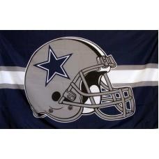 Dallas Cowboys 3'x 5' Flag Helmet Flag