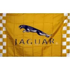 Jaguar Gold Racing Automotive 3' x 5' Flag