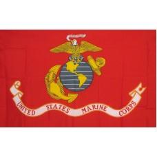 Marines Corps US Economy 3' x 5' Flag