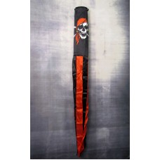 Pirate Red Bandana Wind Sock