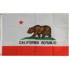 California 2'x3' State Flag
