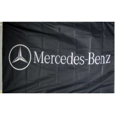 Mercedes-Benz Horizontal 3'x 5' Flag