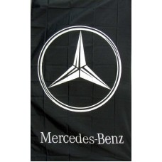 Mercedes-Benz Vertical 3'x 5' Flag