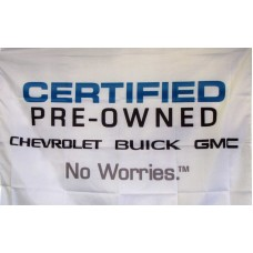 Chevrolet Buick GMC Cerified Pre-Owned Car Lot Flag