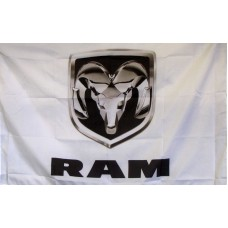 Dodge Ram Logo Car Lot Flag