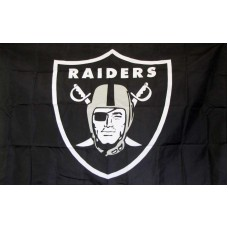 Oakland Raiders 3'x 5' NFL Flag