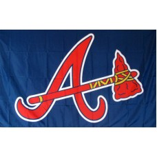 Atlanta Braves 3'x 5' Baseball Flag