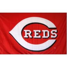 Cincinnati Reds 3'x 5' Baseball Flag