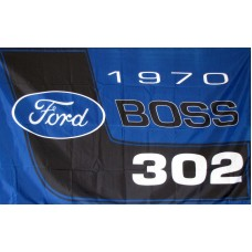 Ford Boss Auotmotive 3'x 5' Flag