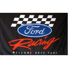 Ford Racing Auotmotive 3'x 5' Flag