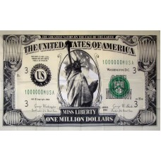 $1,000,000 Bill 3'x 5' Novelty Flag