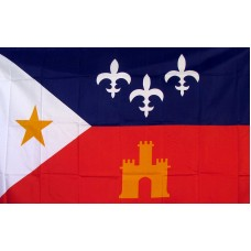 Acadiana 3'x 5' Country Flag