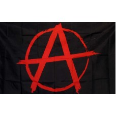 Anarchy 3'x 5' Novelty Flag