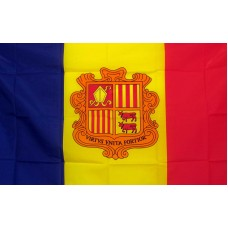 Andorra 3'x 5' Country Flag
