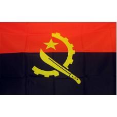 Angola 3'x 5' Country Flag