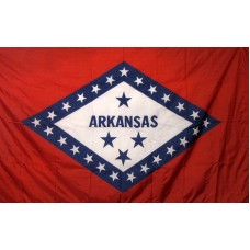 Arkansas 3'x 5' Solar Max Nylon State Flag