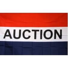 Auction 3'x 5' Business Flag