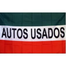 Auto Usados (Used Cars) 3'x 5' Business Flag