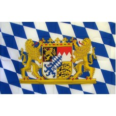 Bavaria with Lion 3'x 5' Country Flag