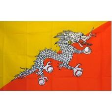 Bhutan 3'x 5' Country Flag