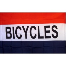 Bicycles 3'x 5' Business Flag