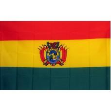 Bolivia 3'x 5' Country Flag