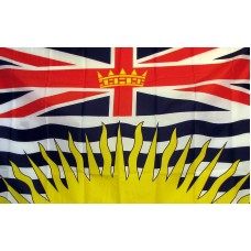British Columbia 3'x 5' Flag