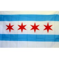 City of Chicago 3'x 5' Flag