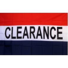 Clearance 3'x 5' Business Flag