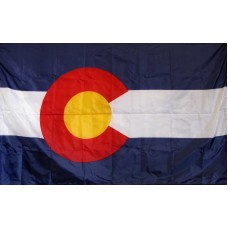 Colorado 3'x 5' Solar Max Nylon State Flag