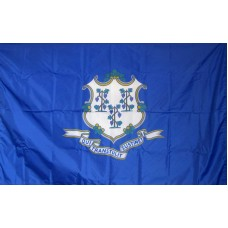 Connecticut 3'x 5' Solar Max Nylon State Flag