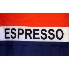 Espresso 3'x 5' Business Flag