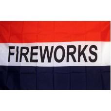 Fireworks 3'x 5' Business Flag