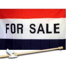 FOR SALE 3' x 5'  Flag, Pole And Mount.