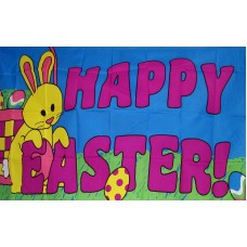 Happy Easter Religious 3'x 5' Flag