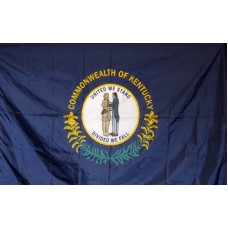 Kentucky 3'x 5' Solar Max Nylon State Flag