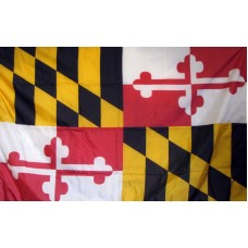 Maryland 3'x 5' Solar Max Nylon State Flag
